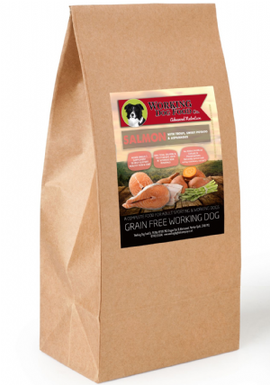 Grain Free Working Dog Food Co. Salmon With Trout, Sweet Potato & Asparagus